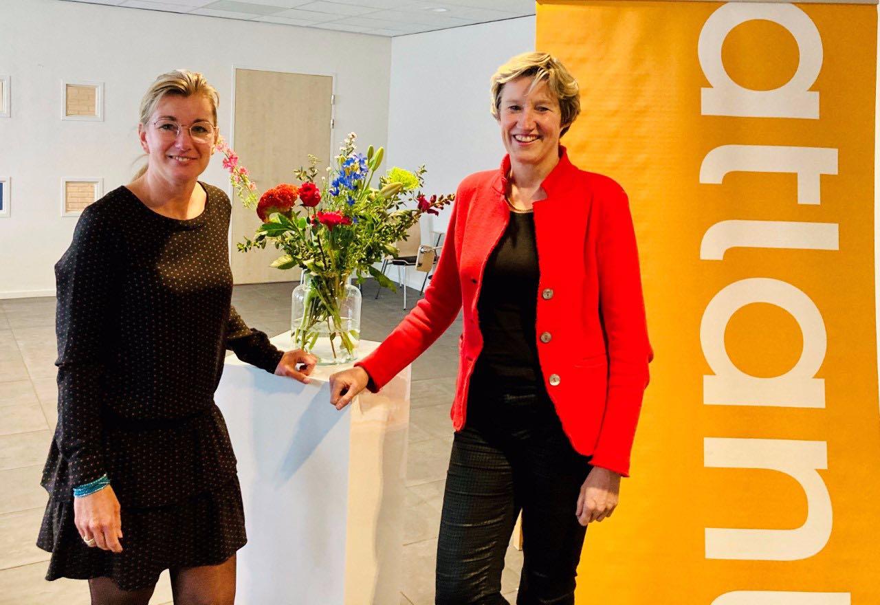 Organisatoren: Cindy Kruijthof en Ruth Veenhuizen